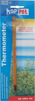 Thermometer mit Saughalter gelb