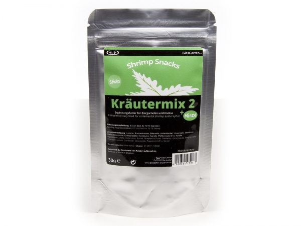 Shrimp Snacks Kräutermix 2 +Minze, 30g